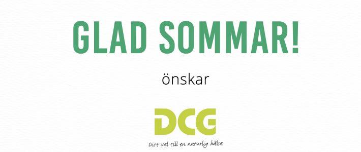 Glad sommar önskar vi på DCG!